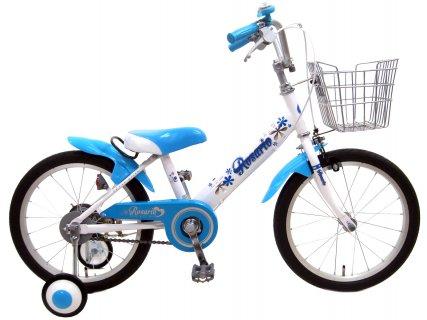 要出典 3歳 自転車 ロサリオ 補助輪付き 組み立て式 子供用自転車