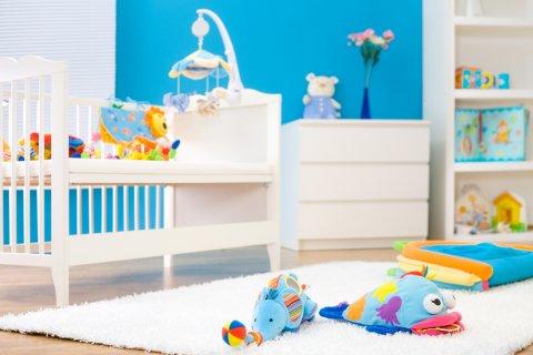 赤ちゃん 部屋 ベビーベッド