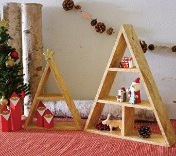 クリスマスの飾り付け デコレ トライアングルBOX