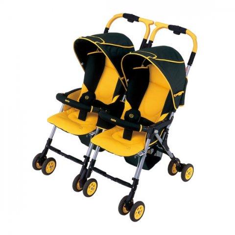 要出典 双子 出産準備 アップリカ 二人乗りベビーカー ネルッコベッド ツインズ サーモ