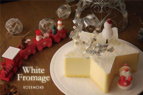 要出典 クリスマスケーキ 通販 星型 クリスマスケーキ ホワイトフロマージュ