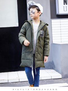 要出典 キッズ ダウンジャケット 韓国 子供服 キッズ ダウンジャケット ロング