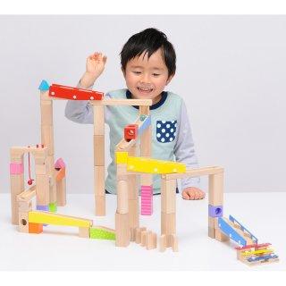 要出典 4歳 5歳 6歳 男の子 クリスマスプレゼント トイザらス イマジナリウム 木製ビー玉ころがし つみきセット