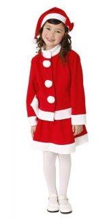 要出典 クリスマス衣装 子供 キッズツーピースサンタ