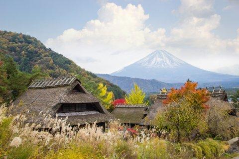 日本 田舎 地方 山