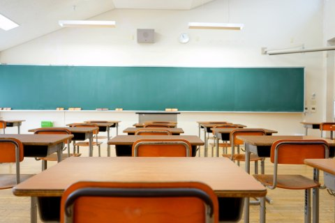 学校 机 教室