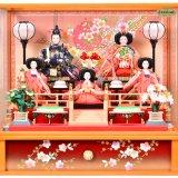 要出典 雛人形 コンパクト 京玉 雛人形 五人飾り コンパクト