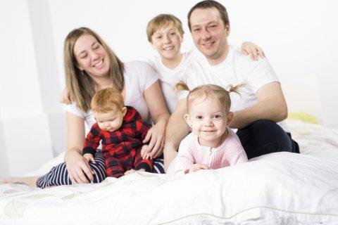 5人家族 3人目出産