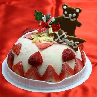 要出典 クリスマスケーキ 2017 通販 人気 苺のミルフィーユアイスケーキ クリスマスアイスケーキ