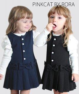 要出典  卒園式 女の子 ワンピース 子供服Rora  女の子 フォーマルワンピース