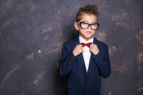 男の子 スーツ メガネ ネクタイ 卒業 入学