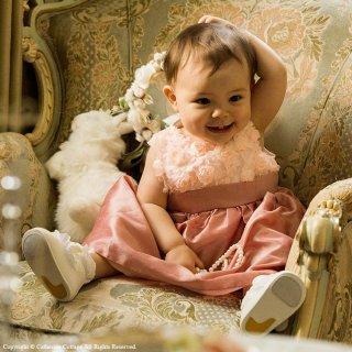 要出典 ベビーフォーマル キャサリンコテージ 子供ドレス ローズパーティーベビードレス