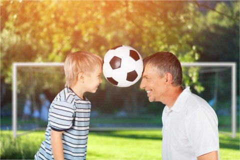 親子 サッカー