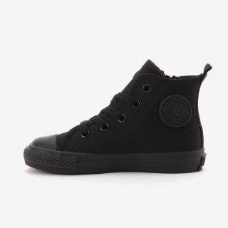 要出典 入学式 男の子 靴 コンバース チャイルドオールスターNZHI ブラックモノクローム