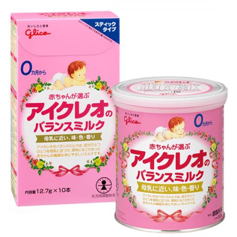 要出典 粉ミルク アイクレオ アイクレオのバランスミルク