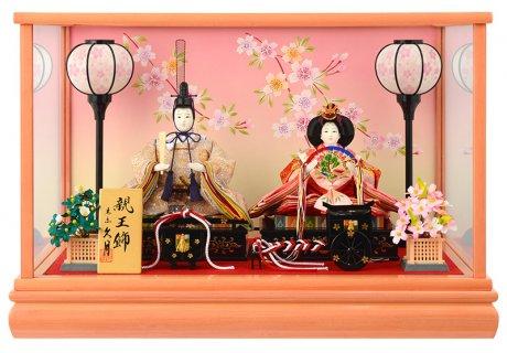 要出典 雛人形 人気 久月 雛人形 ケース 親王飾り