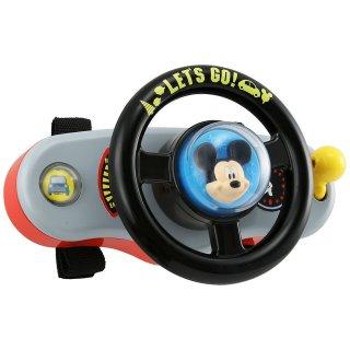 要出典 ベビーカー おもちゃ ディズニー はじめて英語 ミッキーマウス おでかけサウンドハンドル