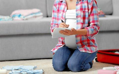 妊婦 出産 準備 入院