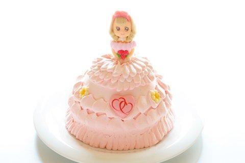 ひなまつりケーキ 立体ケーキ お姫様