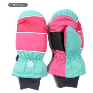 要出典 スキーグローブ スキー手袋 キッズ・ジュニア用ミトングローブ ミトン手袋
