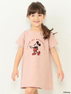 要出典 ディズ二ー 子供服 ビーミング by ビームス ミッキーマウス 裏毛ワンピース