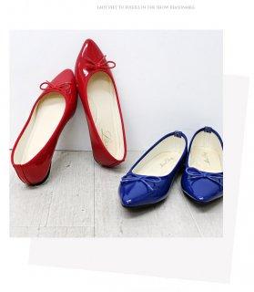 要出典 妊婦さん 靴 フラットシューズ ポインテッドトゥ バレエシューズ