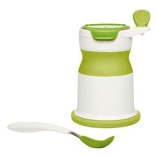 要出典 離乳食 調理器具 OXO Tot ベビーフードミル・シリコンスプーン付 【離乳食】