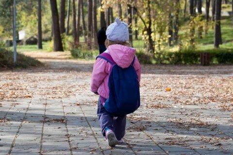 赤ちゃん リュック 散歩 秋 冬