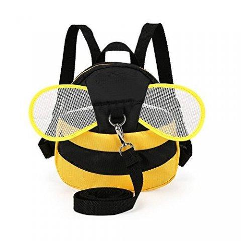 要出典 ベビーリュック ベビーリュック ハーネス付き ミツバチ