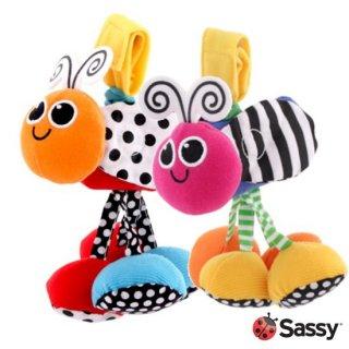 ベビーカーのおもちゃ サッシー ジッター・バグ