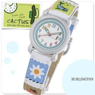 要出典 小学生 腕時計 カクタス キッズ 腕時計 フワラー 女の子