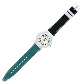 要出典 小学生 腕時計 J-AXIS ツートンカラフルウォッチ サンフレイムのシリコンラバー腕時計