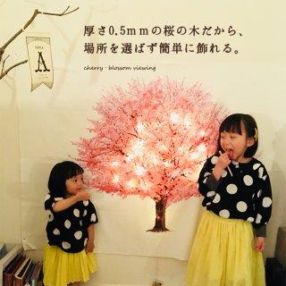 要出典 ひな祭り プレゼント 夜桜タペストリー&LEDガーランドセット