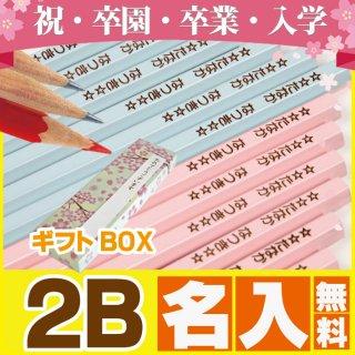 要出典 名前入り 鉛筆 国産2Bパステルカラー名入れ鉛筆