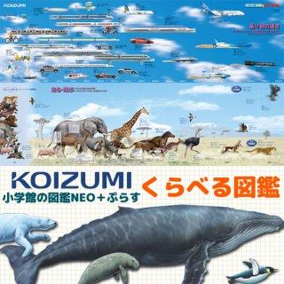 要出典 学習机 デスクマット KOIZUMI 2018年度版デスクマット くらべる図鑑/もっとくらべる図鑑