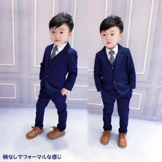 要出典 卒園式 男の子 男の子スーツ キッズスーツ 無地