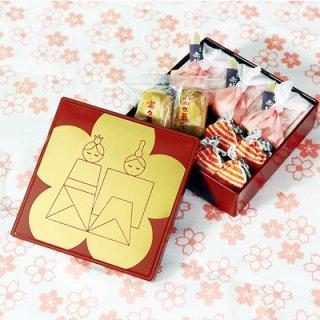 要出典 ひな祭り お菓子 山田平安堂 一ヶ重 ひなまつり和菓子セット