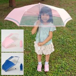要出典 保育園 幼稚園 卒園記念品 前が見えるミニ傘 子ども用 折りたたみ傘