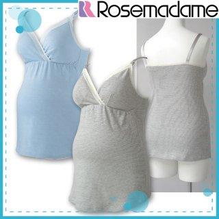 要出典 授乳キャミソール ローズマダム 授乳機能付きキャミソール ストラップオープン