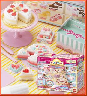 要出典 9歳 女の子 誕生日プレゼント バンダイ クッキンぷっちん ケーキショップ