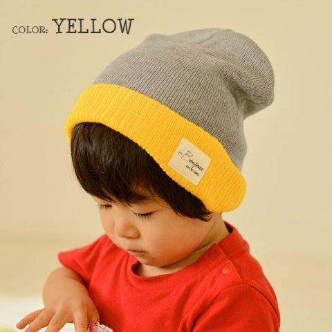 要出典 キッズニット帽 カジュアルボックス キッズ ニット帽 シンプル カラー