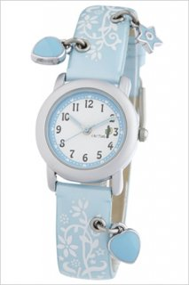 要出典 子供用 腕時計 女の子 カクタス キッズ腕時計 スカイブルー