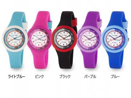 要出典 子供用 腕時計 女の子 カクタス 子供用腕時計 10気圧防水 CAC-92