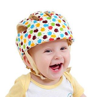 ごっつん防止グッズ ベビー 洗える スポンジヘルメット
