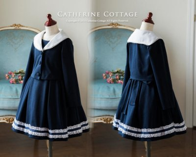 要出典 小学校 入学式 ワンピース キャサリンコテージ 女の子 入学式スーツ セーラー襟スーツ