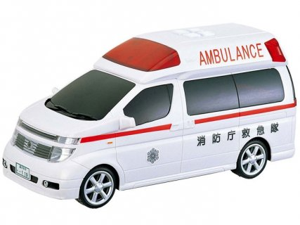 要出典 車おもちゃ トイコー サウンド&フリクション エルグランド救急車