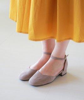 要出典  入園 式 ママ 靴 スクエアトゥ チャンキーヒール セパレート ストラップ パンプス