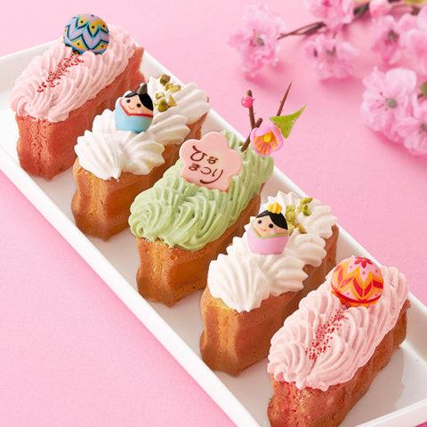 要出典 ひな祭り 桃の節句 お菓子 エール・エル ひなまつり ワッフルドルチェ