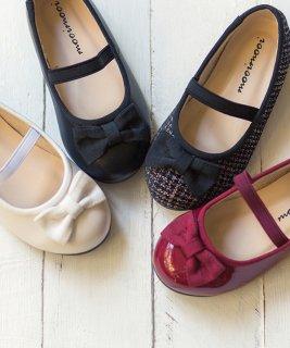 要出典 入学式 女の子 靴 ベーシック リボン バレエシューズ 女の子 入学式 靴