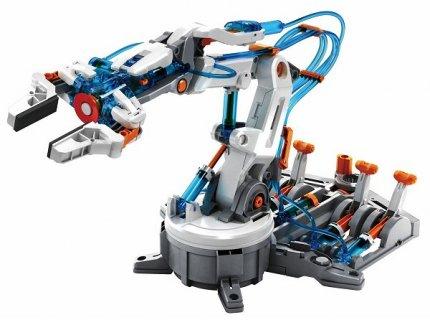 要出典 10歳 男の子 プレゼント エレキット 水圧式ロボットアーム MR-9105